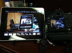 I have been looking for this! Wireless tethering to ipad