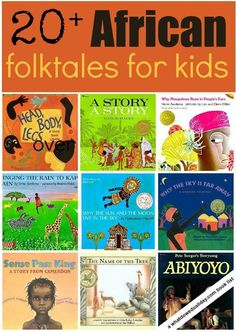 Share another culture with your kids with these beautiful African folktale picture books.