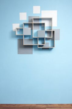 Shelves and Wall Decoration in a Beautiful Combination – Interior Design, Design News and Architecture Trends
