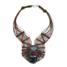 Murano feather necklace nr. 386 | Ifat Nesher