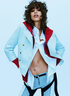 "VOGUE UK ""Game on"" featuring Mica Arganaraz by... - Revorish.com"