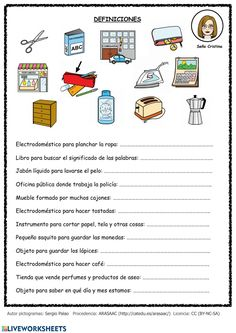 Spanish Worksheets, Spanish Teaching Resources, Spanish Activities, Speech Therapy Games, Speech Language Therapy, Speech And Language, Spanish Lessons For Kids, Learning Sight Words, Senior Activities