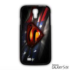 Superman logo flag US for Samsung Galaxy S3/4/5/6/6 Edge/6 Edge Plus phonecases