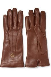 GucciLeather gloves