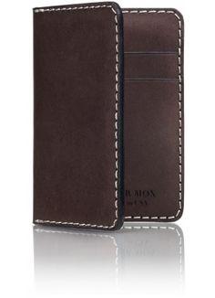 Powder Gray Compact Bi-Fold Wallet