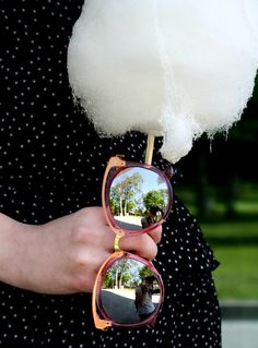 A Saint Style: Oversize Women's Translucent Color Mirror Lens Sunglasses A247