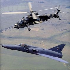 South African Air Force Cheetah and Rooivalk helicopter. Air Force Aircraft, Fighter Aircraft, Military Jets, Military Aircraft, Fighter Pilot, Fighter Jets, Augusta Westland, Stol Aircraft, South African Air Force