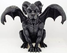 Gargoyle! (I might need to come up with a crochet pattern for one of these GG)