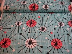 Atomic  Michael Miller Fabric 1 Yard by Grannybevsvintage on Etsy