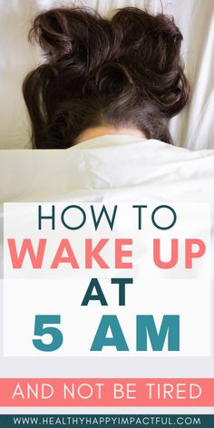 Ways To Wake Up, How To Wake Up Early, Improve Mental Health, Good Mental Health, Night Routine, Morning Routines, Tired Mom, Habits Of Successful People, Getting Up Early