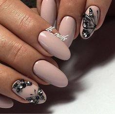 Butterfly nail art designs are loved by women because of its cute, colorful, beautiful patterns and symbolic significance, or simply because the design of butterfly nails has produced attractive effects on nails. Nails Polish, Gel Nails, Perfect Nails, Gorgeous Nails, Amazing Nails, Trendy Nails, Cute Nails, Spring Nails, Summer Nails
