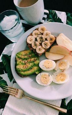 ✔ Healthy Diet Menu Losing Weight – Diet and Nutrition Healthy Meal Prep, Healthy Breakfast Recipes, Healthy Snacks, Healthy Eating, Healthy Recipes, Pancake Recipes, Diet Recipes, Think Food, Love Food