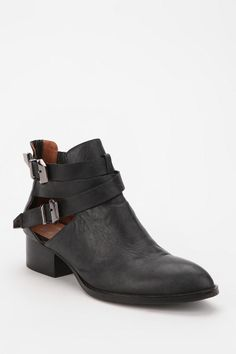 Jeffrey Campbell Everly Boot from Urban Outfitters (in black) expensive but can also get the knock offs