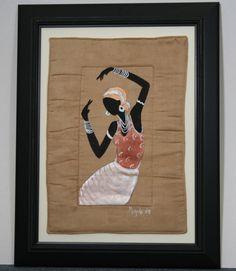 African Original Painting Xhosa Modern by AfricanArtHomeDecor