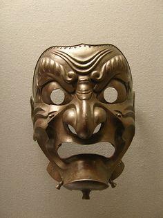 Japanese Samurai Helmet Mask