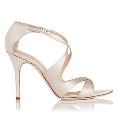 Brielle Nude Satin Formal Sandals | Shoes | L.K.Bennett