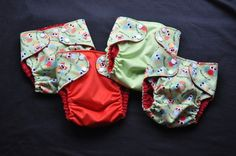 Babyville Boutique Owl Diapers :)  Love having matching diapers!