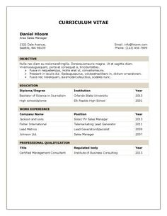 find this pin and more on resume format