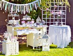 Garden Themed Birthday Party Ideas | Shabby Chic Garden Party {Guest Feature} — Celebrations at Home
