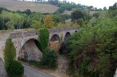 Il ponte vecchio. #marcafermana #servigliano #fermo #marche