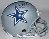 """EMMITT SMITH Signed LE Cowboys Full-Size Authentic Pro-Line Helmet Inscribed """"3x SB Champs"""" & """"HOF 2010"""" STEINER COA LE 22 - Game Day Legends"""