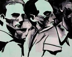 Recopilación con algunas de las pinturas del genial Wilhelm Sasnal. Wilhelm Sasnal