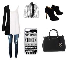 """""""Untitled #41"""" by a-hidden-secret ❤ liked on Polyvore featuring AG Adriano Goldschmied, Topshop, WearAll, Giuseppe Zanotti, Avenue and CellPowerCases"""