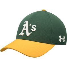 separation shoes a0c6b bb40a Men s Oakland Athletics Under Armour Green MLB Driver Cap 2.0 Adjustable Hat,  Your Price