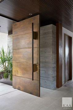 Front door design modern entrance Ideas for 2019 House Doors, House Entrance, Entrance Doors, Modern Entrance Door, Entrance Ideas, Door Entry, House Front Door, Entrance Design, Front Entry