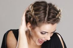 Easy Up Dos With Braids | Sweet Side French Braid Beautiful French Braid Hair Style French braid ...