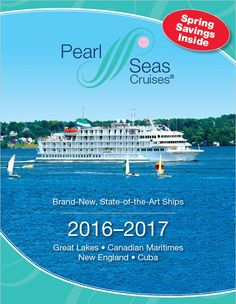 Great Lakes & Georgian Bay cruises from Pearl Seas Cruises lets you discover on an unforgettable 10 or 11 night adventure.