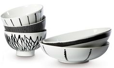 Bowls by Swedish designer Filippa K for Rörstrand.