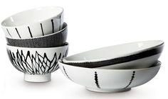 Bowls by Swedish designer Filippa K for Rörstrand.
