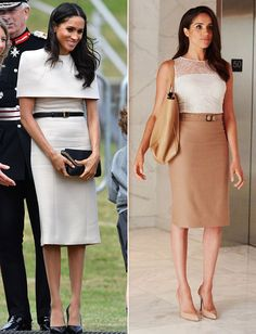 Meghan Markle Channels Suits Character Rachel Zane for First Official Solo Outing with the Queen Rachel Zane Outfits, Suits Rachel, Meghan Markle Suits, Meghan Markle Style, Classy Outfits For Women, Pretty Outfits, Clothes For Women, Suit Fashion, Royal Fashion