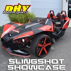 The service department sees a never ending stream of awesome rides and we wanted to share some of them with you. Like Lorenzo and his Polaris Slingshot, Racing, Motorcycle, Vehicles, Awesome, Running, Auto Racing, Motorcycles, Cars