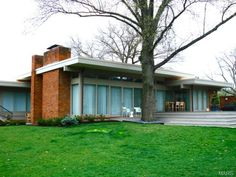 St. Louis mid-century modern by Ted Christner.