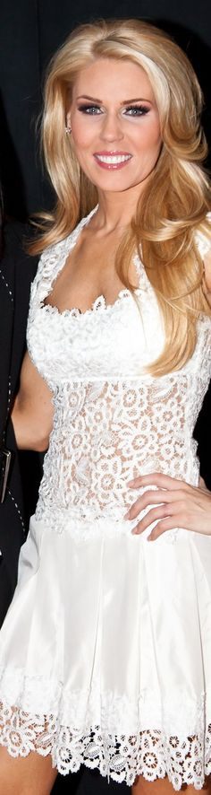 Gretchen Rossi = my favorite hair!