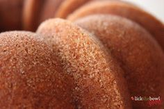 Lick The Bowl Good: snickerdoodle bundt cake, the BEST bundt recipe ever!