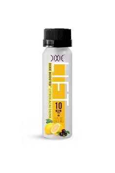 Citrus Acai LIFT is Dixie Boosted™ with our proprietary blend of natural ingredients that enable your cells to absorb THC more quickly. This means a more pronounced ramp-up and a faster onset of euphoria. Enjoy!  Each bottle contains 10MG THC Triple lab tested for quality and consistency Child resistant packaging