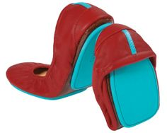 tieks red and blue