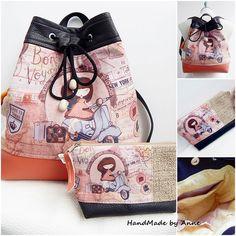 Patchwork hátizsák, válltáska neszesszerrel Gift Bags, Tote Bags, Michael Kors Hamilton, Bucket Bag, Backpacks, Shopping Bags, Shoulder Bags, Gifts, Scrappy Quilts