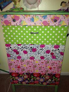 DIY ikea dresser for girl's room