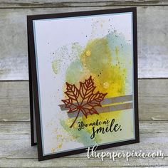 Welcome to InKing Royalty's August Blog Hop! Today's Blog Hop is filled with projects inspired by some of our favorite Fall-themed products. What fun! Stampin' Up!'s catalogs (both the Annual Catalog and soon-to-be-released Holiday Catalog) are filled with so many fun products for the Autumn holidays – and we are excited to share our creations…