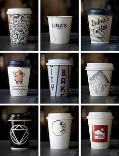 Photo du Jour: A Collection of Coffee Cups From Around the World - Feature Shoot