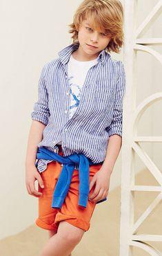Massimo Dutti SS14, os presento las nuevas colecciones de moda infantil http://www.minimoda.es