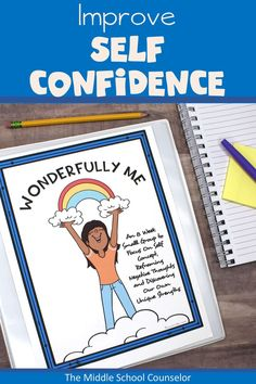 Help empower students to feel more self confident, get rid of their negative thought traps, learn self care strategies, and practice affirmations. Character Education Lessons, Education And Development, Social Emotional Development, Music Education, World History Teaching, World History Lessons, Elementary School Counselor, Elementary Schools, Elementary Music