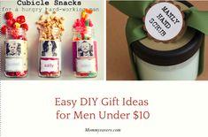 Easy DIY Gift Ideas for Men Under $10