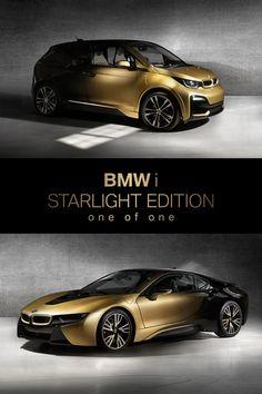 BMW i STARLIGHT edition one of one   24 karat