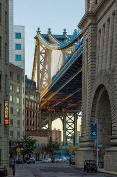 Down Under - Manhattan Bridge, NYC