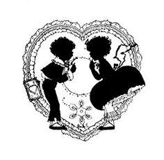 silhouette love